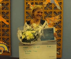 Vibeke Tang Larsen er Årets Demenskoordinator 2013